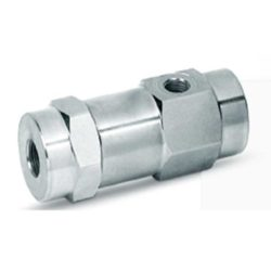 3 Ways Single Pilot Operated Check Valves, In line (PVCS)